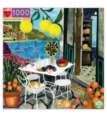 eeBoo - Puzzle - Cats in Positano, 1000 pc (EPZTCPT)