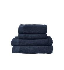 Zone - Classic Håndklæde Sæt - Mørkeblå