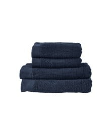 Zone - Classic Towel Set - Dark Blue (331889)