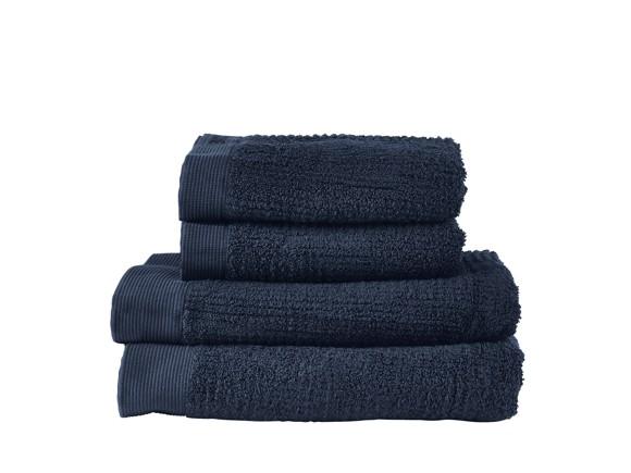 Zone - Classic Towel Set - Dark Blue (331889)