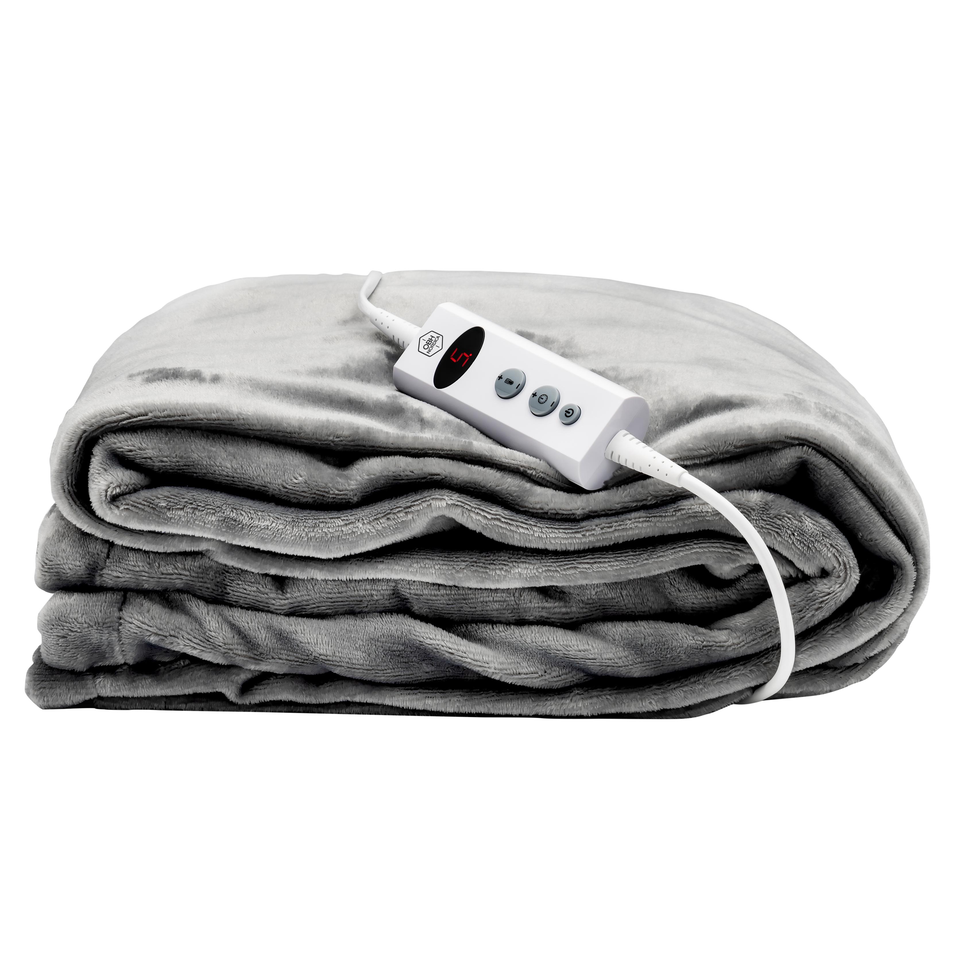 OBH Nordica - Cosy Hug Heating Plaid - Grey (4099)