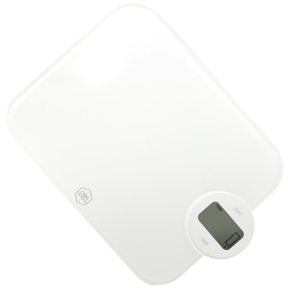 OBH Nordica - Dynamo Twist Kitchen Scale - White (9841)