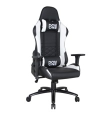 DON ONE -GC300 GAMING CHAIR Black/White - in colors that match your new Playstation 5