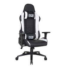 DON ONE -GC300 Gaming stol - Sort/Hvid - i de rigtige farver til at matche din nye Playstation 5
