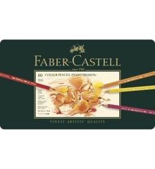 Faber-Castell - Polychromos colour pencil, tin of 60 (110060)
