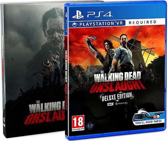 The Walking Dead Onslaught Deluxe Edition VR