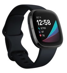 Fitbit - Sense Advanced Smart Health Smartwatch - Carbon/Graphite