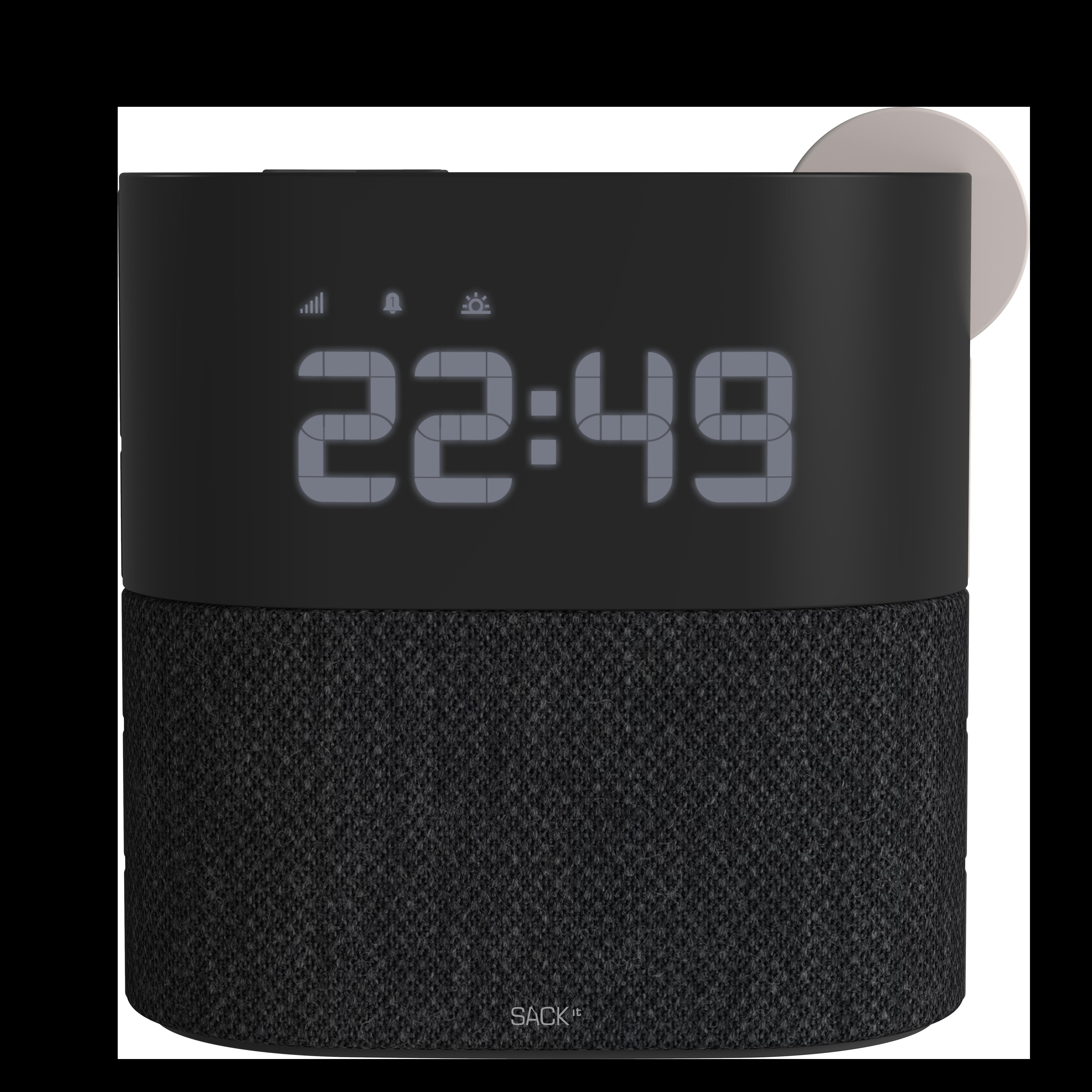 SACKit - WAKEit Clock Radio Pearl