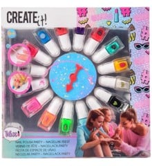 CREATE IT! - Nail Polish + Spinning Wheel 16 Bottles (84167)