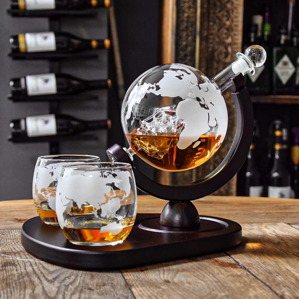 Deluxe Globe Decanter Set (04976)