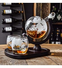 Deluxe Globe Decanter Set (04976)