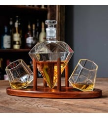 Deluxe Diamond Decanter Set (04977)
