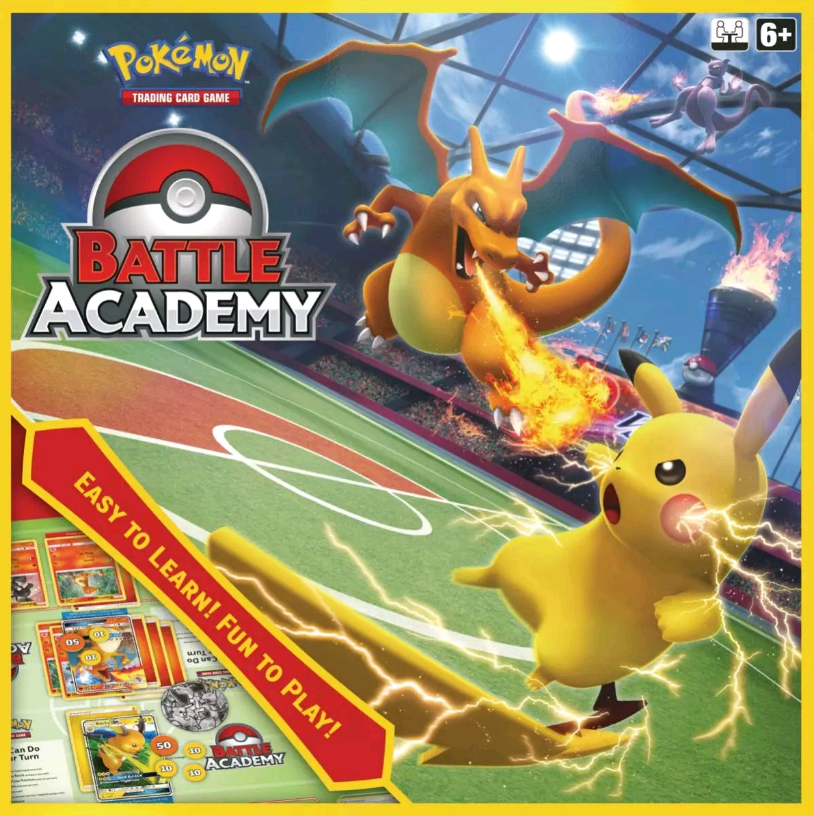 Pokemon - Trading Card Battle Academy (Pokemon Trading Cards) (POK80789)