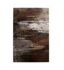 Muubs - Surface Rug 200 x 300 cm - Black/brown (9070000022)