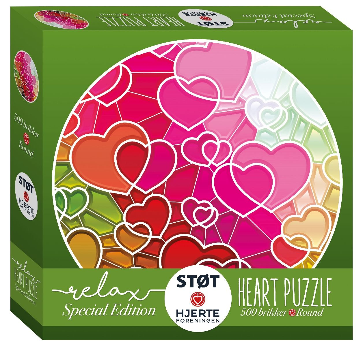 Relax - Puzzle - Hearts