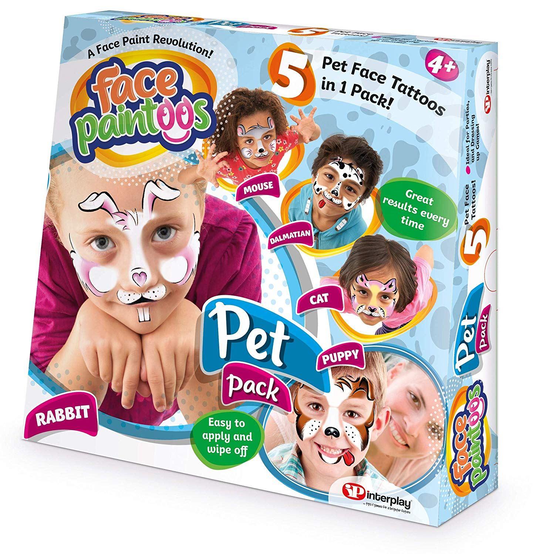 Face Paintoos - Pet Pack