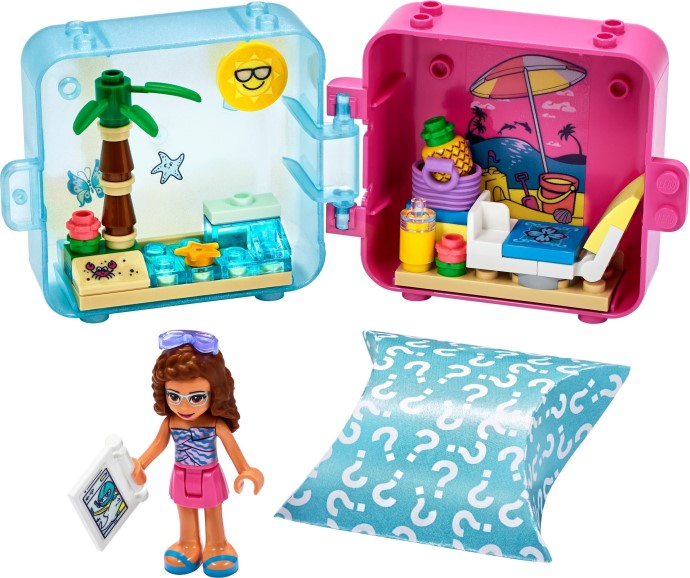 LEGO Friends - Olivia's Summer Play Cube (41412)