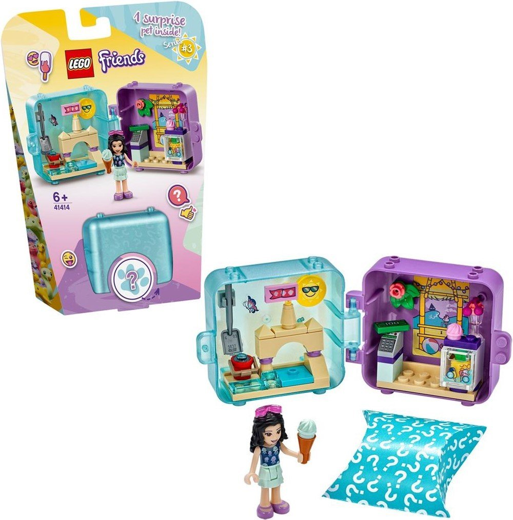 LEGO Friends - Emma's Summer Play Cube (41414)