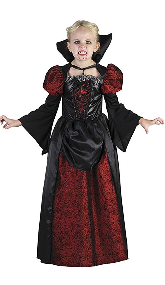 Vampire Girl - Childrens Costume (Size 110 - 116)