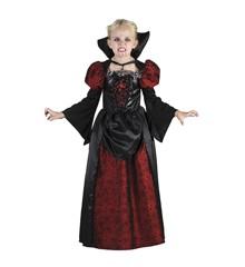 Vampyr Pige - Børne Kostume (Str. 110 - 116)