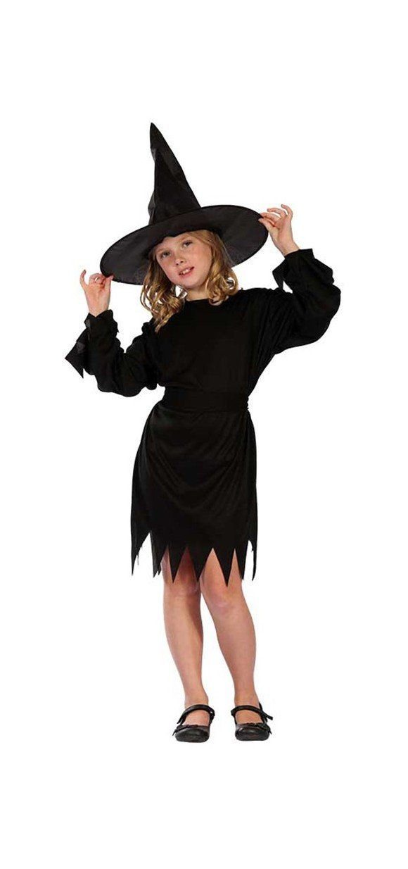 Black Witch -  Childrens Costume (Size 110 - 116)