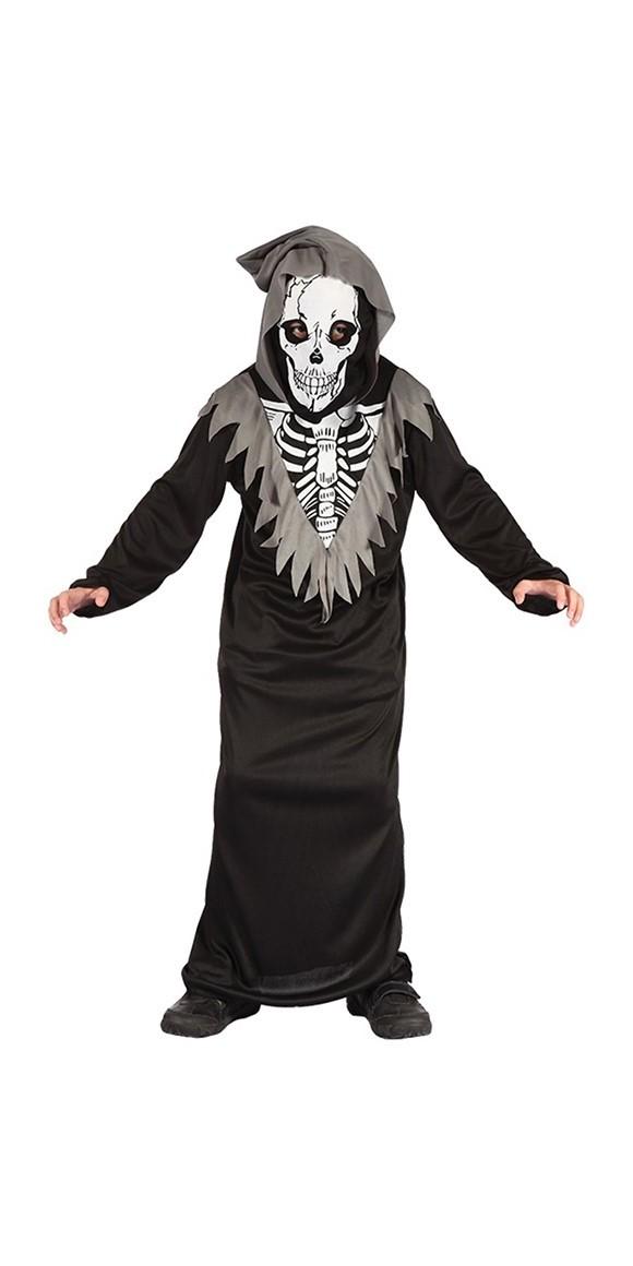 Skeleton Robe - Childrens Costume (Size 110 - 116)