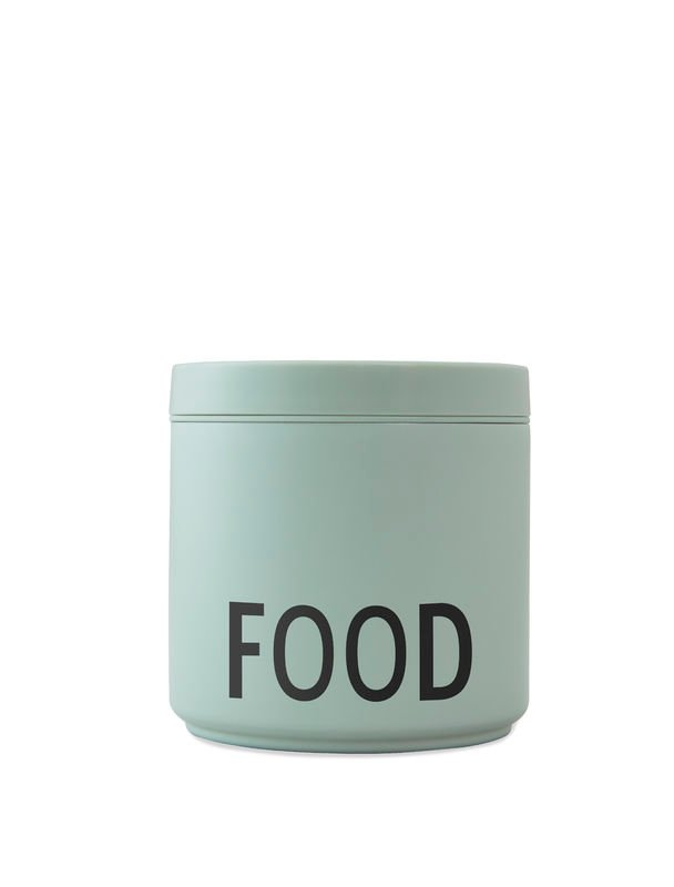 Design Letters - Thermo Lunch Box Large - Green (30101006GREBLAFOOD)