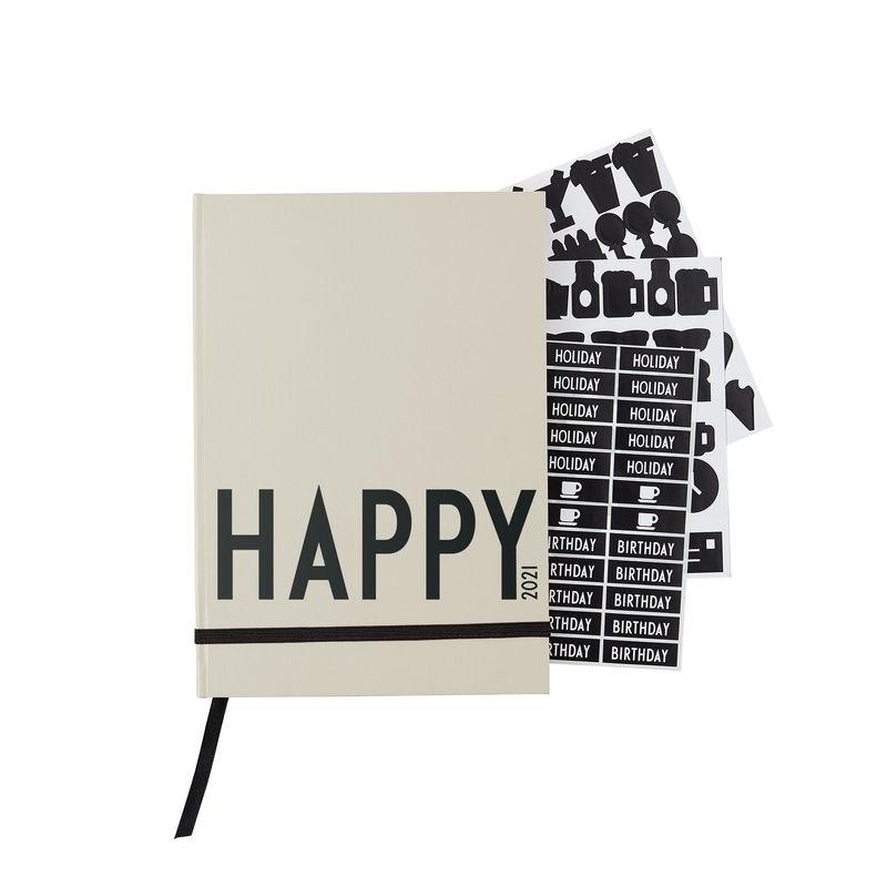 Design Letters - Calendar 2021 - Grey (70201016COOLGREY)