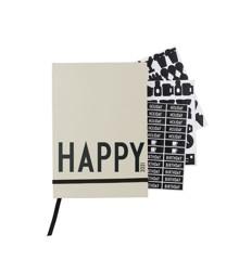 Design Letters - Kalender 2021 - Grå