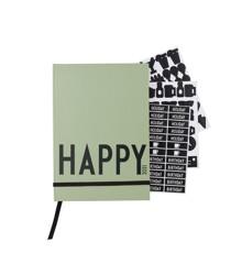 Design Letters - Kalender 2021 - Mørke Grøn