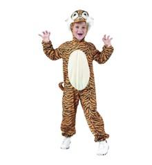 Tiger Dragt - Børne Kostume (Str. 92 - 104)