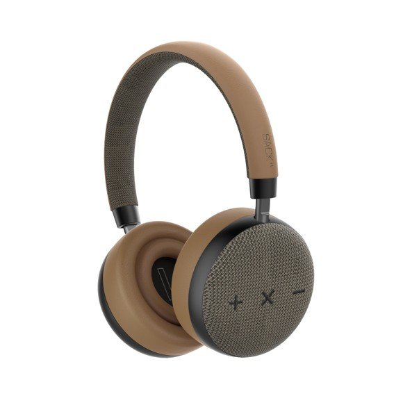 SACKit - TOUCHit S On-Ear Headphones - Golden