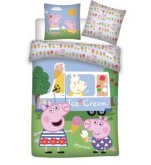 Bed Linen - Junior size 140 x 100 cm - Peppa Pig (1000378)