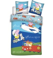 Bed Linen - Junior Size 100 x 140 cm - Peppa Pig (1000380)