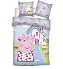 Bed Linen - Junior Size 100 x 140 cm  - Peppa Pig (1000382)