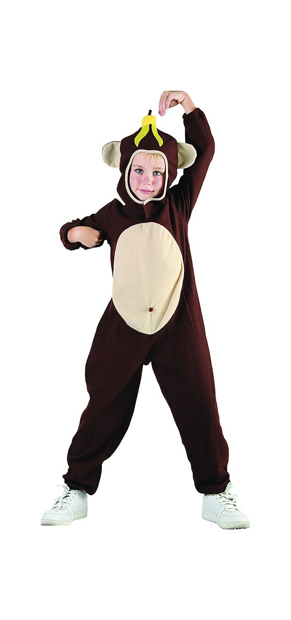Monkey - Childrens Costume (Size 92 - 104)