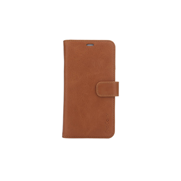 RadiCover - Strålingsbeskyttelse Wallet Læder iPhone 6/7/8 - Brun