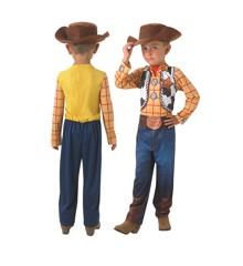Toy Story - Woody - Børne Kostume (Str. 128)