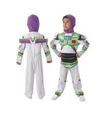 Toy Story - Buzz Lightyear - Børne Kostume (Str. 104)