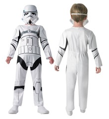 Star Wars - Stormtrooper - Childrens Costume (Size 128)
