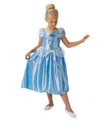 Disney Prinsesse - Askepot - Børne Kostume (Str. 128)