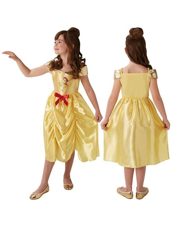 Disney Prinsesse - Eventyr Belle - Børne Kostume (Str. 104)
