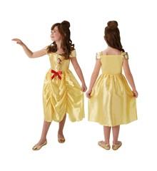 Disney Prinsesse - Eventyr Belle - Børne Kostume (Str. 116)