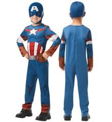 Marvel Avengers - Captain America - Childrens Costume (Size Small)