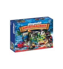 Playmobil - Julekalender - Skattejagt i Piratbugten (70322)