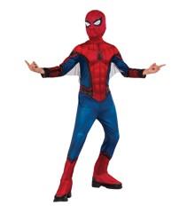 Spider-Man Klassisk Dragt - Børne Kostume (Str. Small)