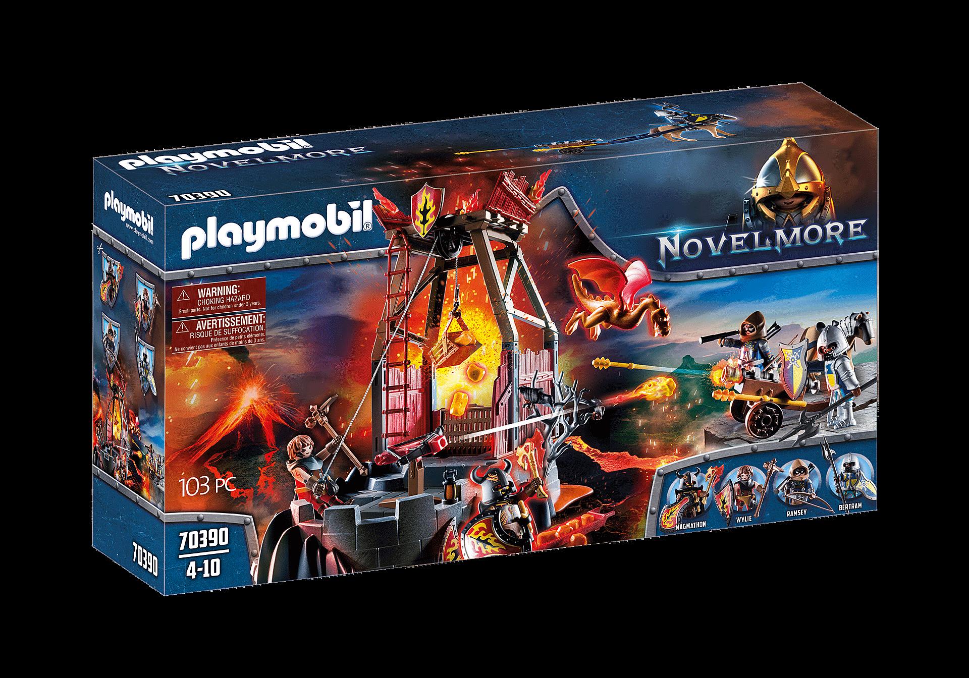 Playmobil - Burnham Raiders - Fire Lava mine (70390)