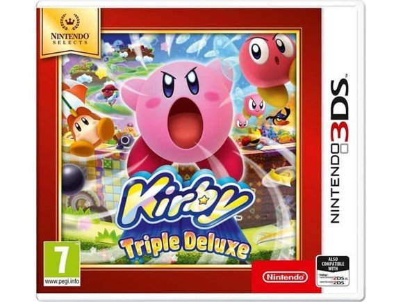 Kirby Triple Deluxe (Selects) (FR, Multilingual in game)