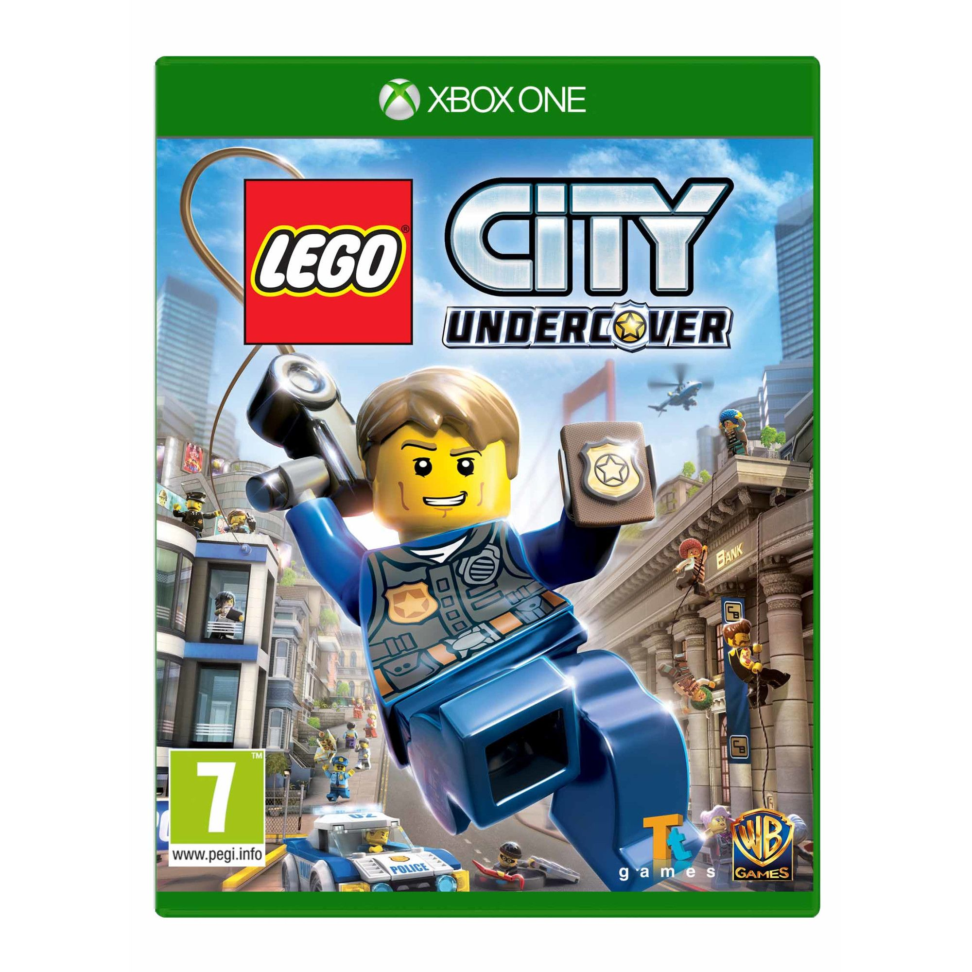 Lego City Undercover (FR, Multilingual in game)