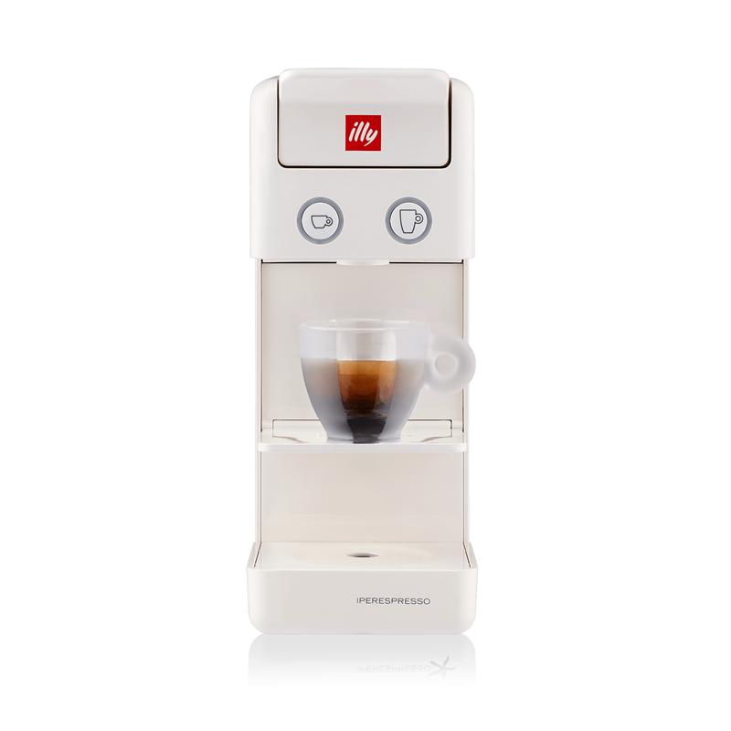 illy - Y3.3 Iperespresso - Espresso & Coffee Machine - White